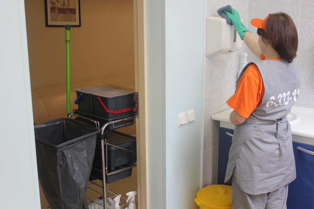 генеральной фото в с больнице уборкой