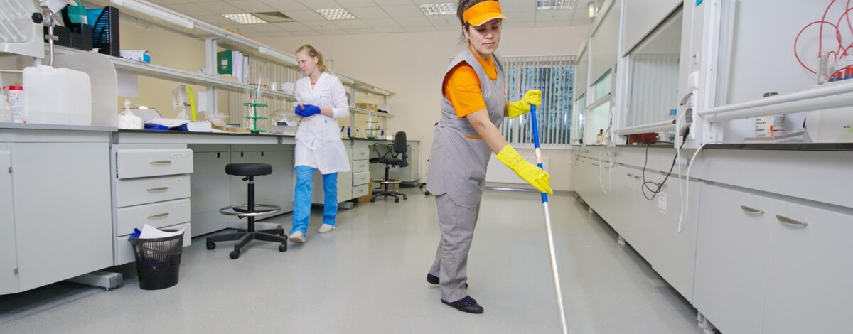 Уборка помещений медицинских учреждений. Клининговая компания ПроблескМЕД